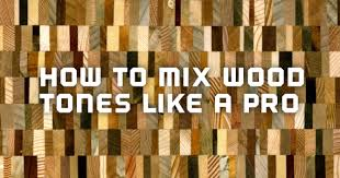 Mixed Wood Kitchen Cabinets How To Mix Wood Tones Like A Pro Amish Outlet Store