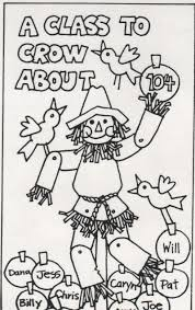 scarecrow writing paper elementary school enrichment activities scarecrow bulletin board this is a cute bulletin board or door cover use the pattern to blow up the scarecrow to the size you need color the scarecrow and then laminate so you can