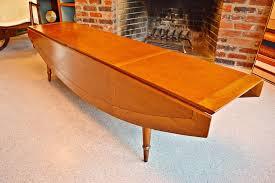 Drop Leaf Coffee Table Mid Century Tomlinson Drop Leaf Coffee Table In Oliver