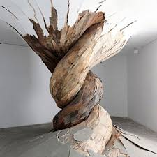 wood sculpture artists japanese artist turns wood into twelve faced and other