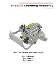 yd25 cr fault diagnosis pdf fuel injection diesel engine