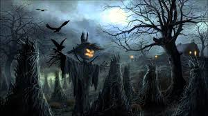 halloween dark background halloween music creepy scarecrows youtube
