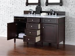 bathroom vanity cabinet no top contemporary 60 inch double sink bathroom vanity mahogany finish no top