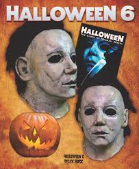 mike myers halloween mask halloween 6 curse of michael myers deluxe latex halloween mask