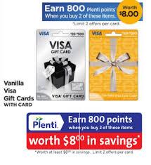 rite aid vanilla visa gift card promotion free 800 plenti points