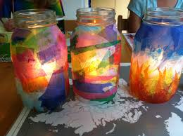 shine a light tissue paper lanterns mango theory