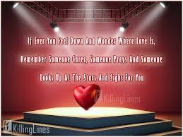 Love And Stars Quotes by Very Feeling And Touching Cute Love Quotes Images Killinglines Com