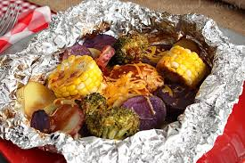 Thanksgiving Camping Recipes Cheddar Bbq Chicken Foil Packet Meal For A Camping Party Home