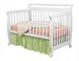 Davinci Emily 4 In 1 Convertible Crib White Davinci Emily Crib White 7 Davinci Emily 4 In 1 Convertible Crib