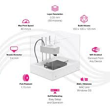 Home Design 3d 1 3 1 Mod by New Matter Mod T Desktop 3d Printer Built In Wifi Easy To Use