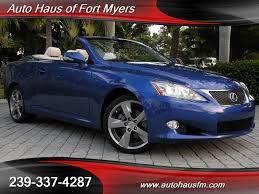 2010 lexus sedan for sale 2010 lexus is 250c convertible ft myers fl for sale in fort myers