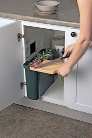 In Cabinet Trash Cans For The Kitchen 25 Best Under Sink Bin Ideas On Pinterest Under Sink Storage