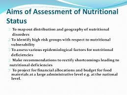 dietary assessment seminar
