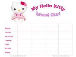 kitty reward charts