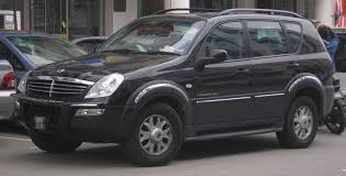 ssangyong rexton tractor u0026 construction plant wiki fandom
