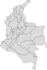 colombia map vector de colombia clipart