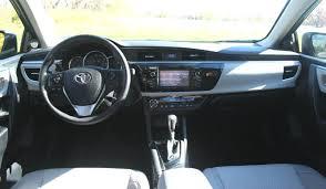 2015 Camry Le Interior 2015 Toyota Corolla Le Eco Review U2013