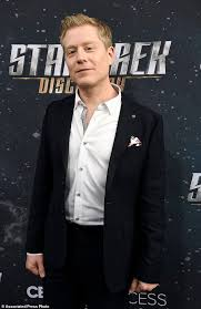 anthony rapp portrays star trek tv u0027s first character daily