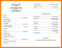 Wedding Ceremony Bulletin Template 12 Program Template Portfolio Covers