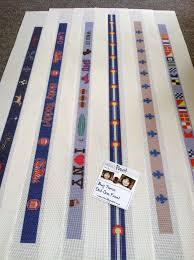 custom needlepoint belt canvases needlepoint kits and canvas designs