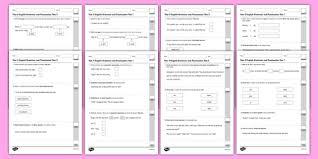 5 grammar worksheets grammar