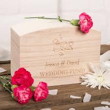 wedding money box personalised wooden money box wedding fund