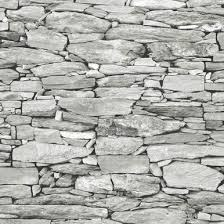 brick wallpaper for walls with stone and wood effect