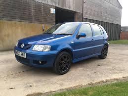 2000 w volkswagen polo 6n2 1 4 16v manual mercato metallic blue
