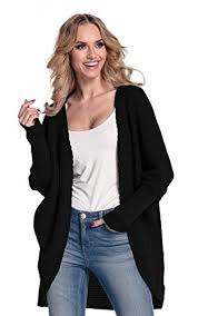 glamour empire glamour empire womens warm buttonless cardigan