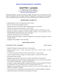 Best Resume Job Skills by Resume Best Resume Format For Sales Professionals High Profile