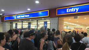 siege aldi sale chaos aldi s solution for buys madness northern