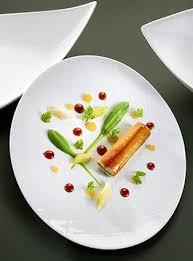 cuisiner des anguilles anguille fumée mini poireaux et orange en gelée par olivier nasti