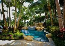 Extravagant Backyards - 25 spectacular tropical pool landscaping ideas