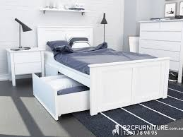 Bedroom Suites Kids King Single Storage White BC Furniture - Kids bedroom packages