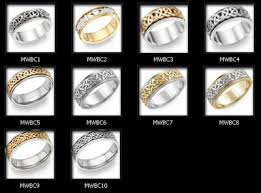 mens celtic wedding bands men s wedding bends