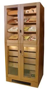 cigar humidor display cabinet this custom display cigar humidor cabinet was handcrafted from solid