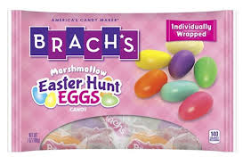 easter marshmallow candy brachs easter hunt eggs marshmallow candy 7 oz