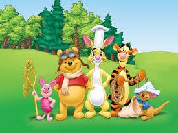 winnie pooh wallpaper places visit