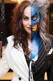 Scary Halloween Looks 25 Best Two Face Costume Ideas On Pinterest Two Faces Batman