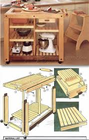 kitchen furniture plans kitchen work table plans furniture plans and projects чертежи