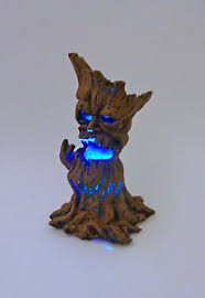 dollhouse miniature light up evil tree 17523 ebay
