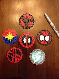 marvel comics perler bead by mattsterpieces on etsy