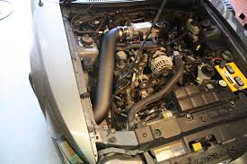Black 04 Mustang Gt Jlt Cold Air Intake 1996 04 Mustang Gt Free Paint Cai2 Fmg