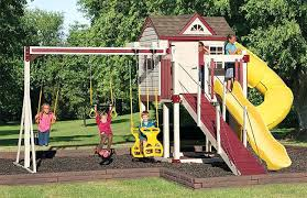 backyard playset playground ideas diy kits