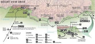 grand map lodging desert view drive grand national park u s national park