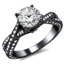 black gold engagement ring shopping for an engagement ring on black friday keep these points