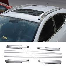Roof Bars For Kia Sportage 2012 by Silver Alloy Top Roof Side Rails Rack Cargo Luggage For Hyudnai