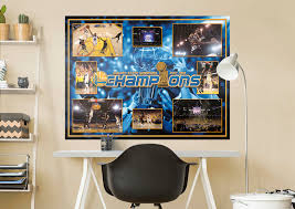 golden state warriors 2017 nba champions moments mural wall decal golden state warriors 2017 nba champions moments fathead wall mural