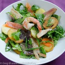 salicorne cuisine salade de poissons fumés et salicorne cook n roll
