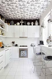 kitchen design ideas modern black and white kitchen backsplash